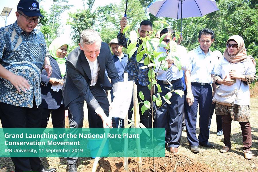 BIOTROP Joins National Rare Plant Conservation Movement