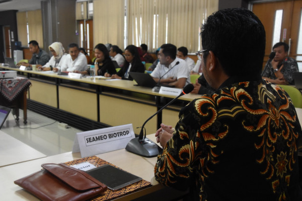 SEAMEO Centres in Indonesia Discuss Budget and Programme Planning for 2020