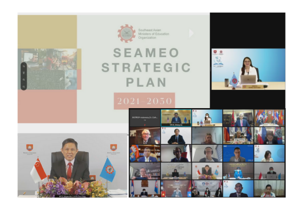 Singapore hosts the first virtual  51st SEAMEO Council Conference 2021