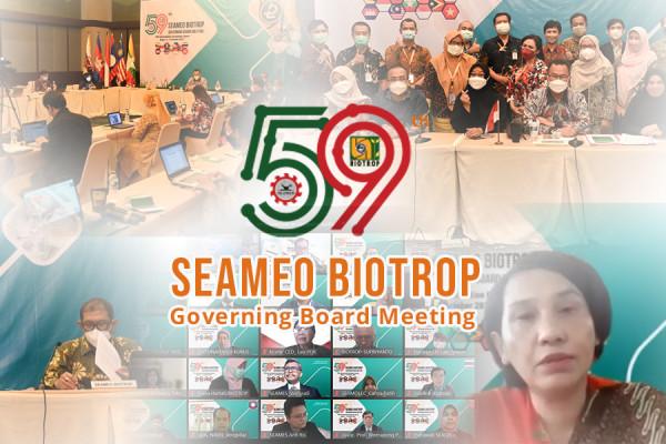The Virtual 59th SEAMEO BIOTROP Governing Board Meeting