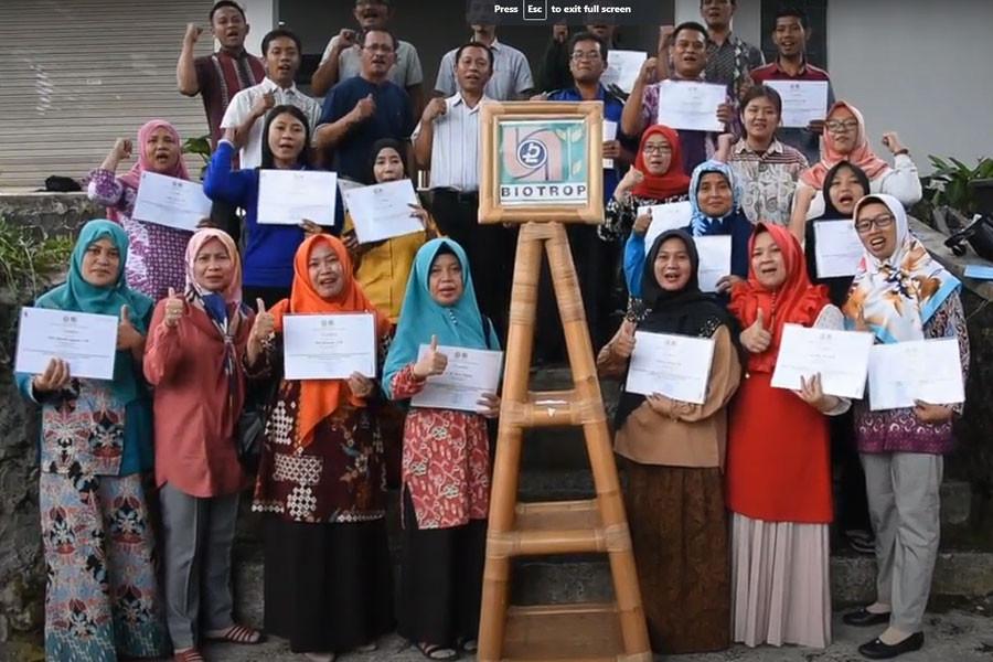 Training Series for SMK Teachers: BIOTROPs Support for MoECs SMK Revitalization Program